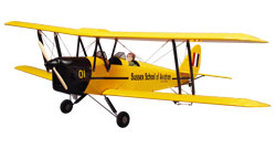 Great Planes Tiger Moth 60 Bipe ARF MonoKote  61-91,71