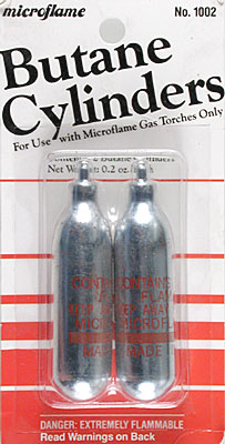 Microflame Butane Gas Cylinder (2)