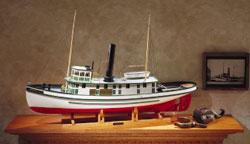 Midwest Seguin Tugboat w/Hardware & Motor R/C