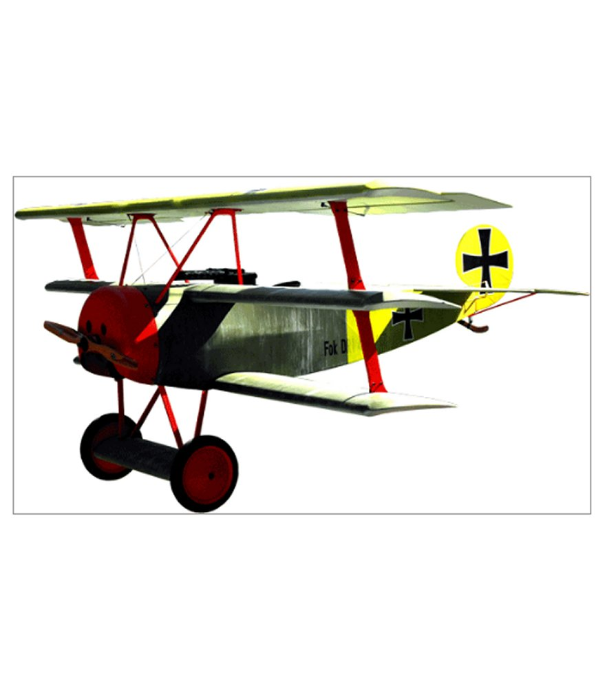 Fokker DR1 Triplane 1/3 Scale