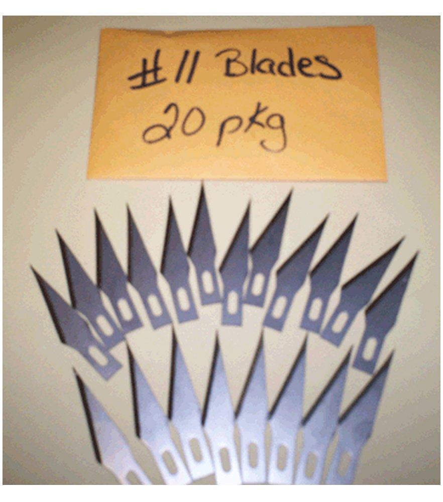 No.11 Blades 20 pack