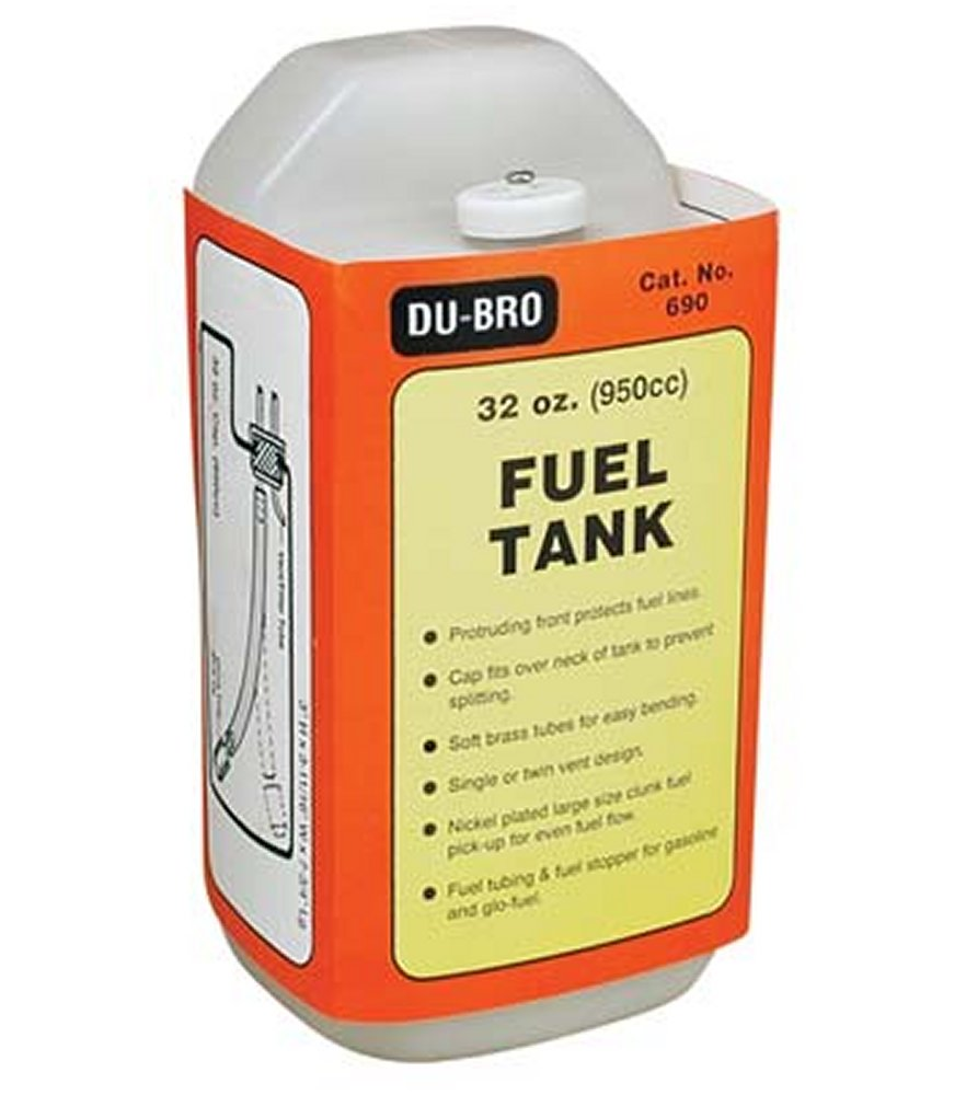 Fuel Tank Square 32 oz. (950cc)