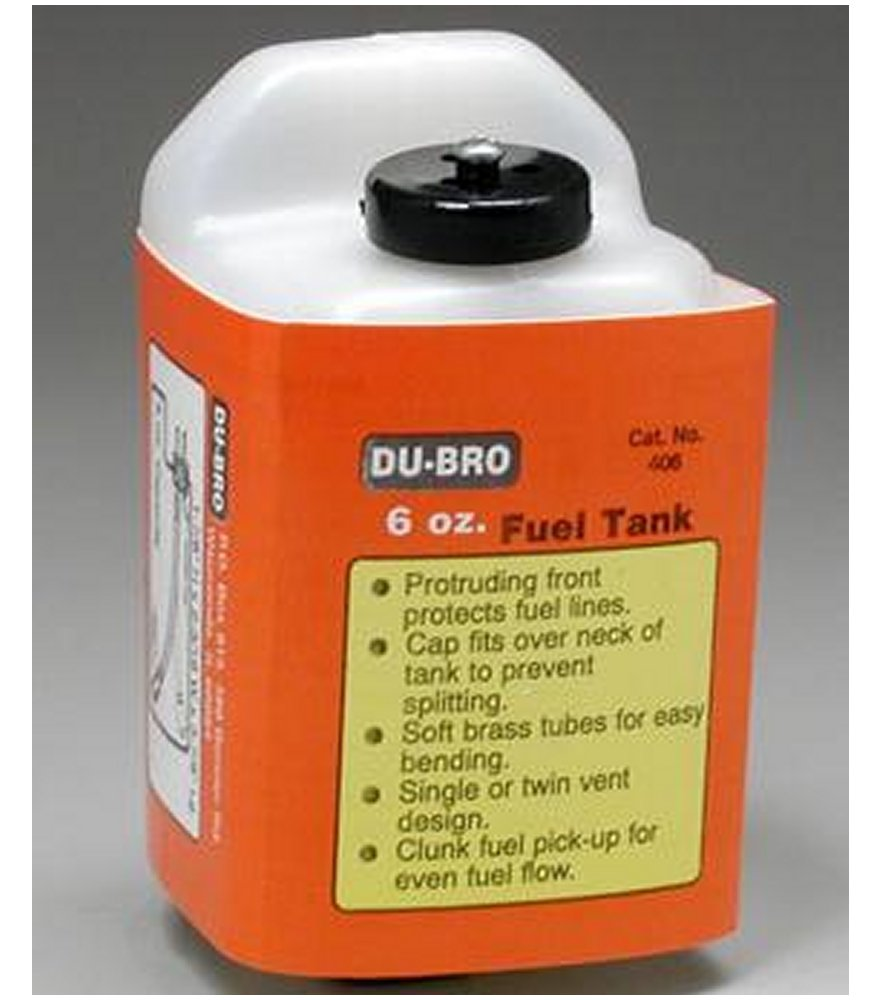 Fuel Tank Square 6 oz. (180cc)