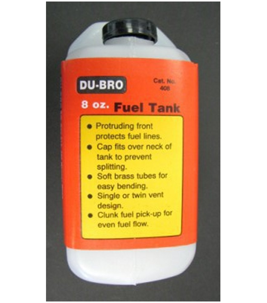 Fuel Tank Square 8 oz. (240cc)