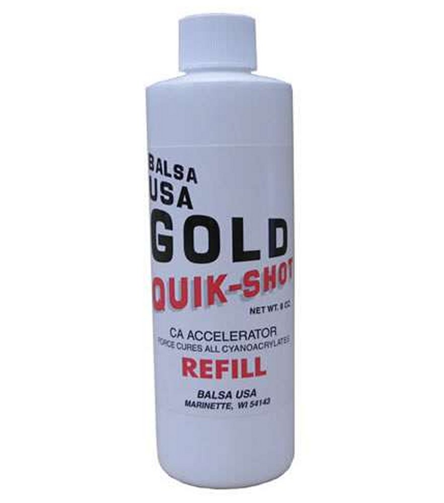 CA Accelerator Quick Shot Refill 8 oz. Spray Bottle