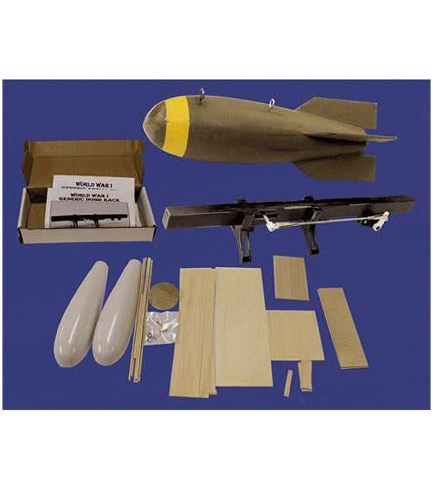 Aerial Bomb & Rack Complete Kit
