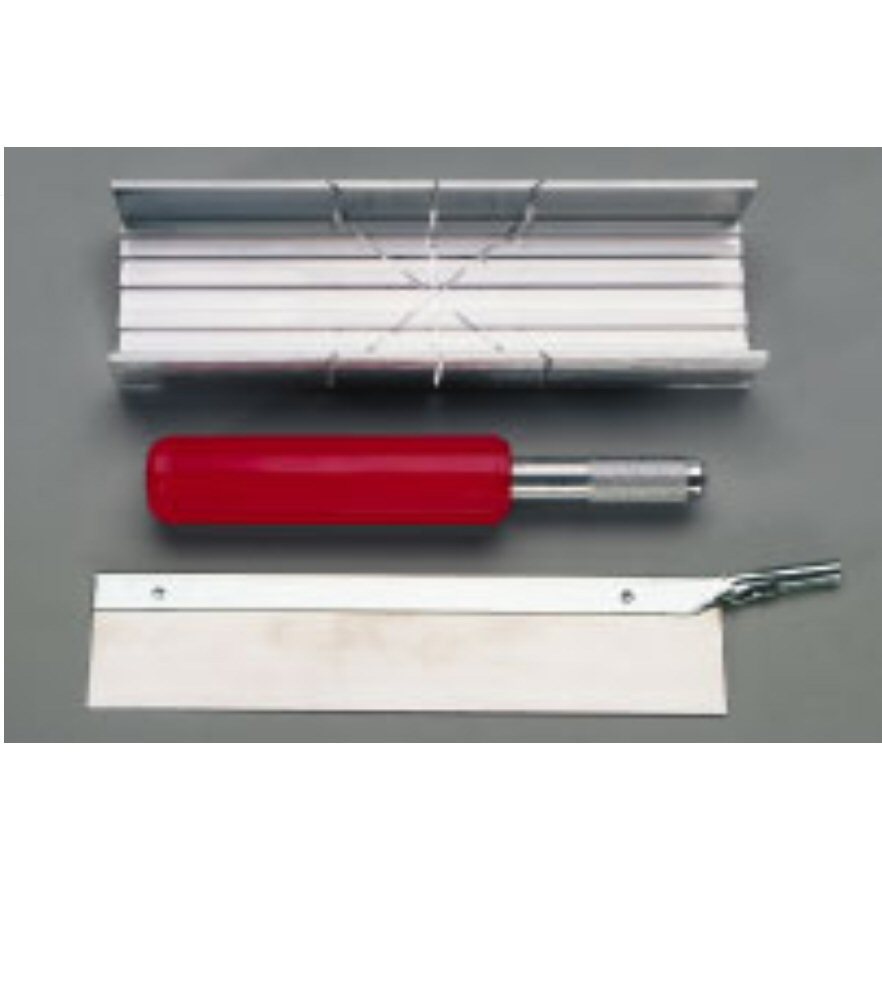 Aluminum Mitre Box Set W/handle & Blade