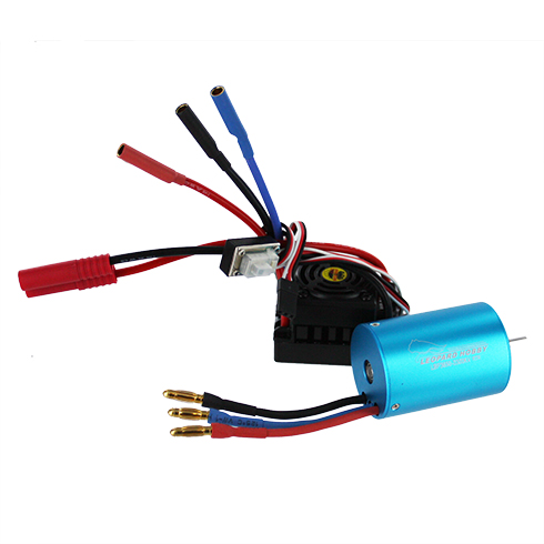 3300kv 540 Brushless Motor with Splashproof, Programmable ES