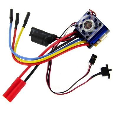 Brushless ESC with Banana Connector (7.4v to 12v, 90A)