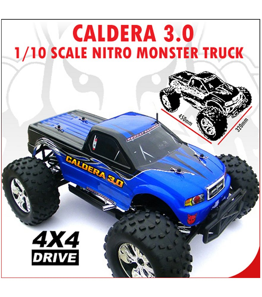 Caldera 3.0 1/10 Scale Nitro Truck (2 Speed)