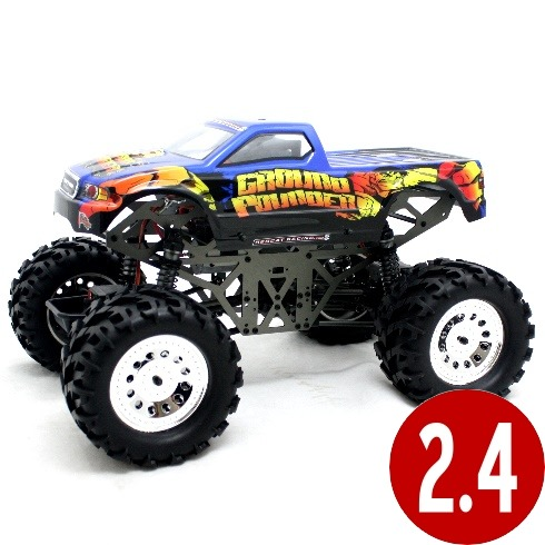 Ground Pounder 1/10th scale solid axle RTR RC monster truck