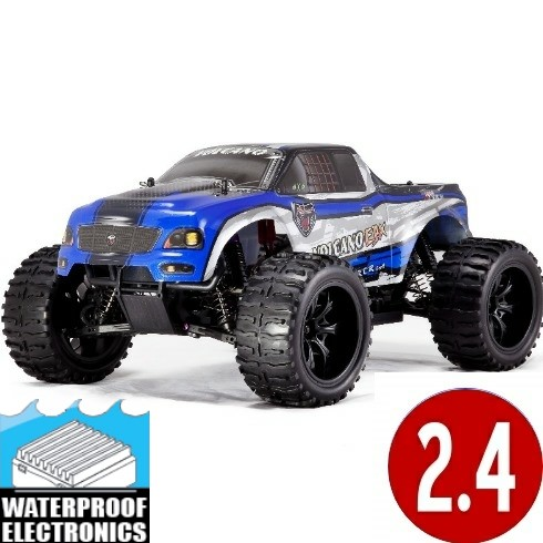 Volcano EPX 1/10 Scale Electric Monster Truck Brushed