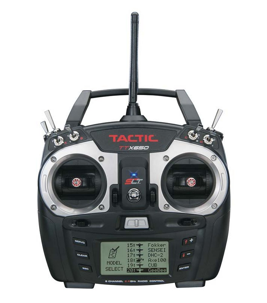 Tactic TTX650 6 Channel 2.4GHz SLT Computer Transmitter